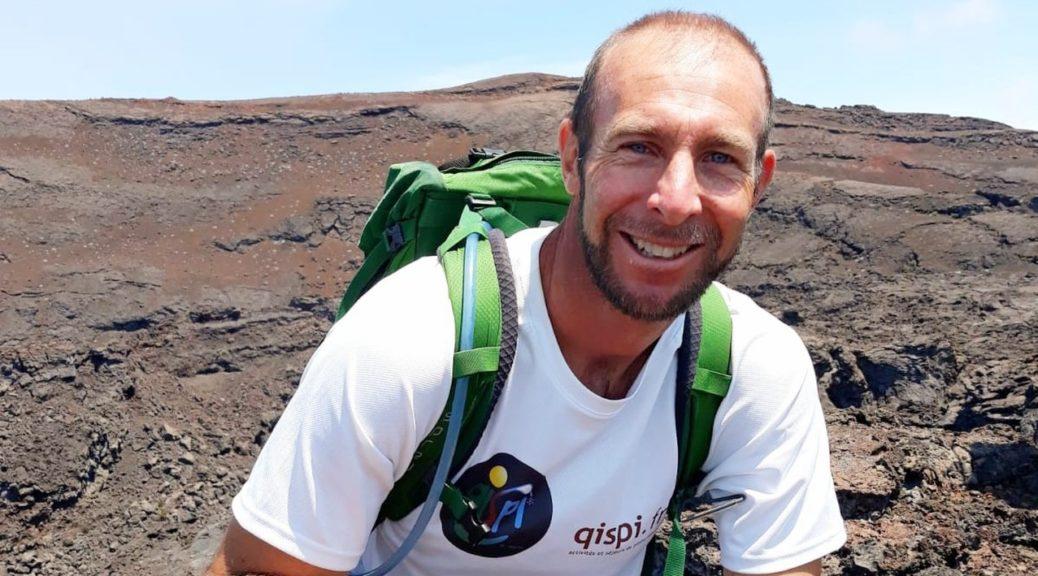 Thomas au Piton de La Fournaise - Trek au coeur de La Réunion